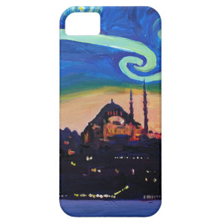 Starry Night in Istanbul Turkey Barely There iPhone 5 Case