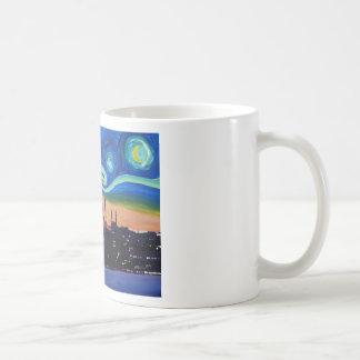 Starry Night in Istanbul Turkey Coffee Mug