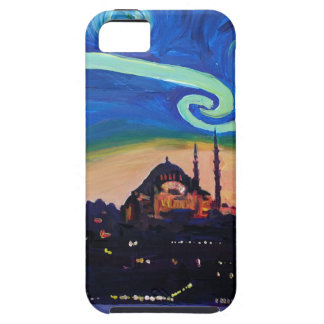 Starry Night in Istanbul Turkey iPhone 5 Covers