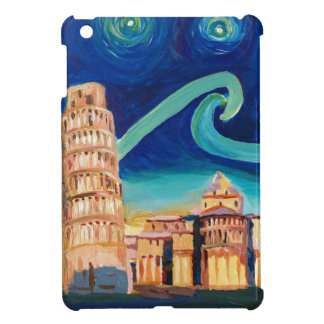 Starry Night in Pisa with Leaning Tower Case For The iPad Mini