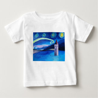 Starry Night in Switzerland - Vierwaldstätter See Baby T-Shirt