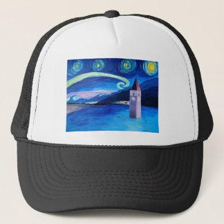 Starry Night in Switzerland - Vierwaldstätter See Trucker Hat