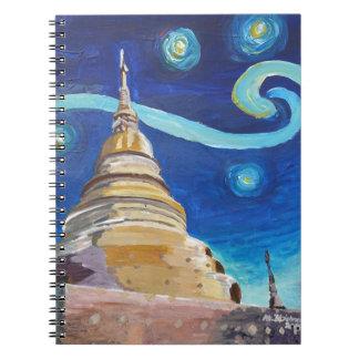 Starry Night in Thailand - Van Gogh Inspirations Notebook