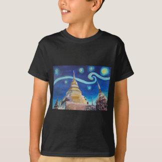 Starry Night in Thailand - Van Gogh Inspirations T-Shirt