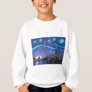 Starry Night in Toronto with Van Gogh Inspirations Sweatshirt