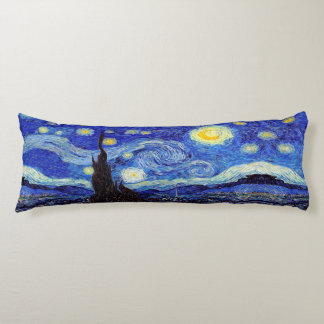 Starry Night Inspired Body Pillow