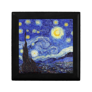 Starry Night Inspired Jewelry Box