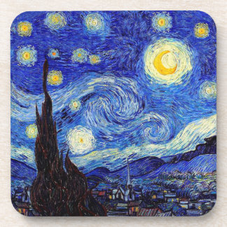 Starry Night  Inspired Van Gogh Classic Products Coaster