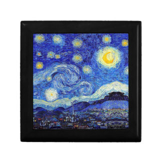Starry Night  Inspired Van Gogh Classic Products Gift Box