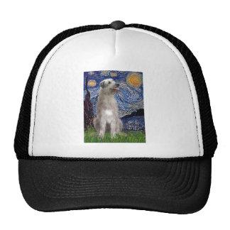 Starry Night - Irish Wolfhound Hat
