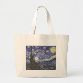 Starry Night Large Tote Bag