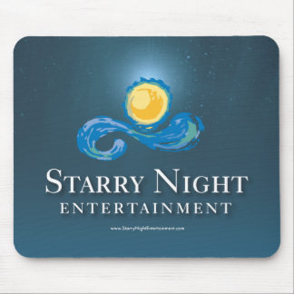 Starry Night Logo Mouse Pad