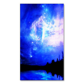 starry night Magnetic business card