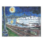 Starry Night Mississippi Queen 11 Cm X 14 Cm Invitation Card