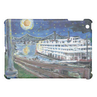 Starry Night Mississippi Queen iPad Mini Cover