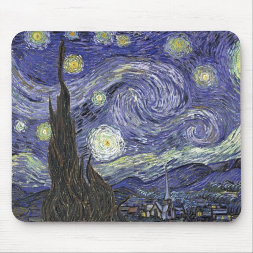 Starry Night Mousepads