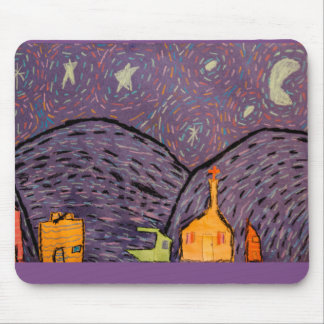 Starry Night Mouse Pad
