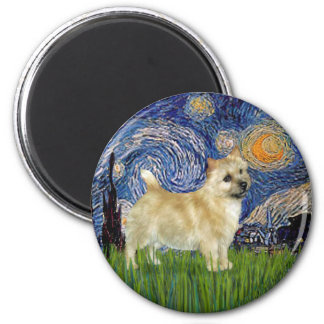 Starry Night - Norwich Terrier Magnet