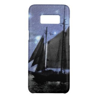 starry night ocean sea sailing ship sailboat Case-Mate samsung galaxy s8 case