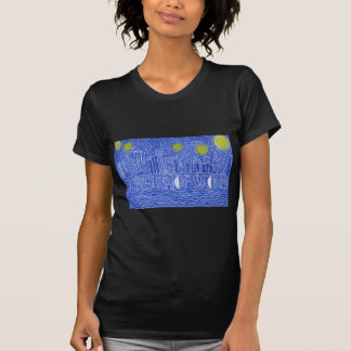 Starry Night Over New York...Who Is John Galt? T Shirts