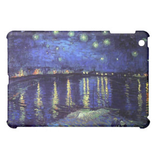 starry night over the rhone 1890 cover for the iPad mini