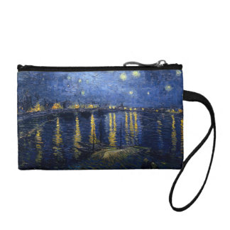 Starry Night Over the Rhone Change Purse