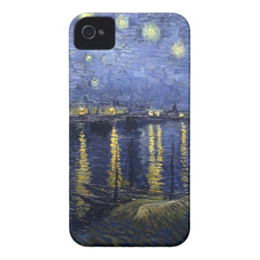 Starry Night Over the Rhone BlackBerry Bold Case