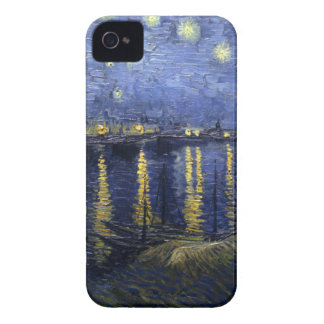 Starry Night Over The Rhone by Van Gogh iPhone 4 Case