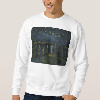 Starry Night Over the Rhone by Van Gogh Sweatshirt