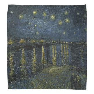 Starry Night Over the Rhone by Vincent Van Gogh Bandanas