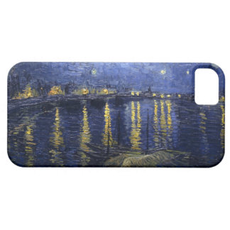 Starry Night Over the Rhone by Vincent van Gogh iPhone 5 Cases