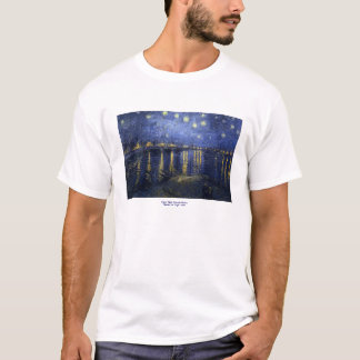 Starry Night Over the Rhone by Vincent van Gogh T-Shirt