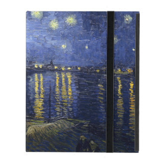 Starry Night Over the Rhone iPad Cases