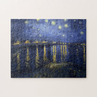 Starry Night Over the Rhone Jigsaw Puzzles