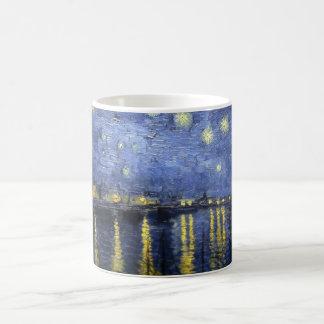 Starry Night Over the Rhone Coffee Mugs