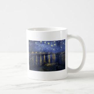 Starry Night Over The Rhone Mugs