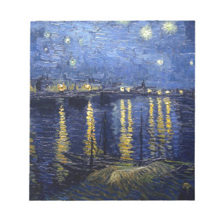 Starry Night Over the Rhone Memo Note Pad