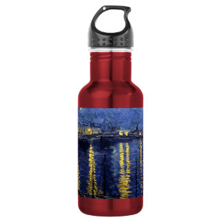 Starry Night Over the Rhone 532 Ml Water Bottle