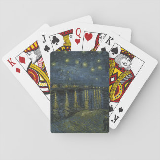 Starry Night over the Rhone Playing Cards