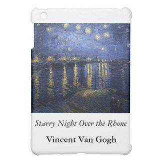 Starry Night Over the Rhone - Van Gogh (1888) iPad Mini Cover