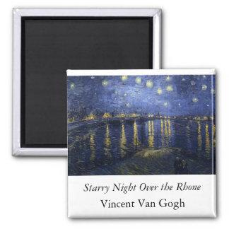 Starry Night Over the Rhone - Van Gogh (1888) Fridge Magnets