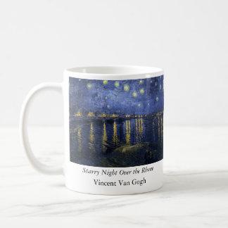 Starry Night Over the Rhone - Van Gogh (1888) Mugs