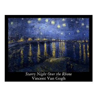 Starry Night Over the Rhone - Van Gogh (1888) Postcard