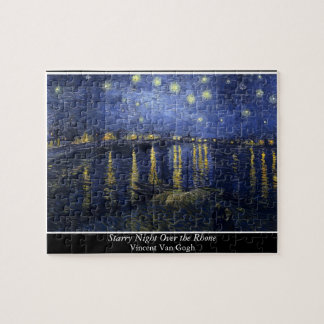 Starry Night Over the Rhone - Van Gogh (1888) Puzzles
