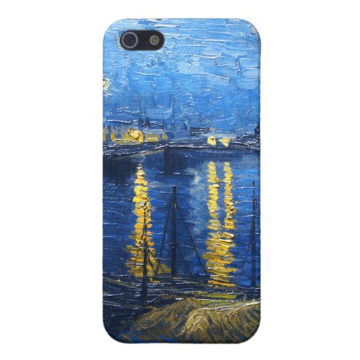 Starry Night Over the Rhone, Van Gogh Covers For iPhone 5