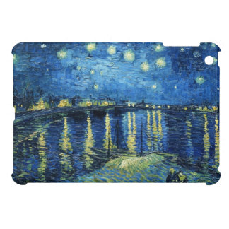 Starry Night over the Rhone Vincent van Gogh iPad Mini Covers