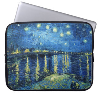 Starry Night over the Rhone Vincent van Gogh Computer Sleeves