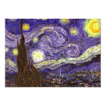 Starry Night painting by artist Vincent Van Gogh