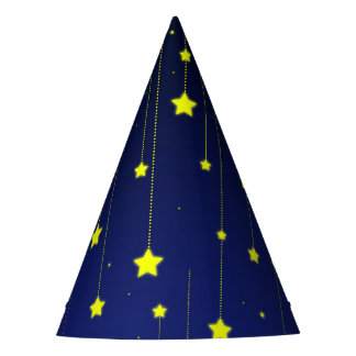 Starry Night paper hat