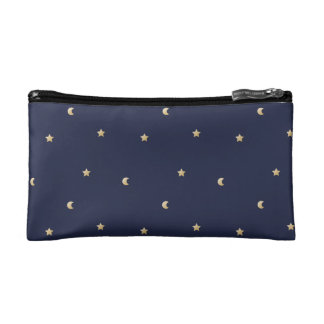 Starry Night Pattern Cosmetic Bag